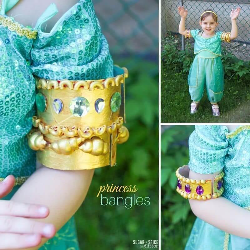 princess bracelet craft for kids
