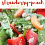 Strawberry-Peach Salad Recipe