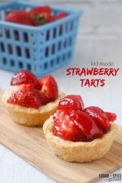Kids' Kitchen: Strawberry Tart Recipe