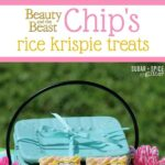 Beauty & the Beast: Chip Rice Krispie Treats