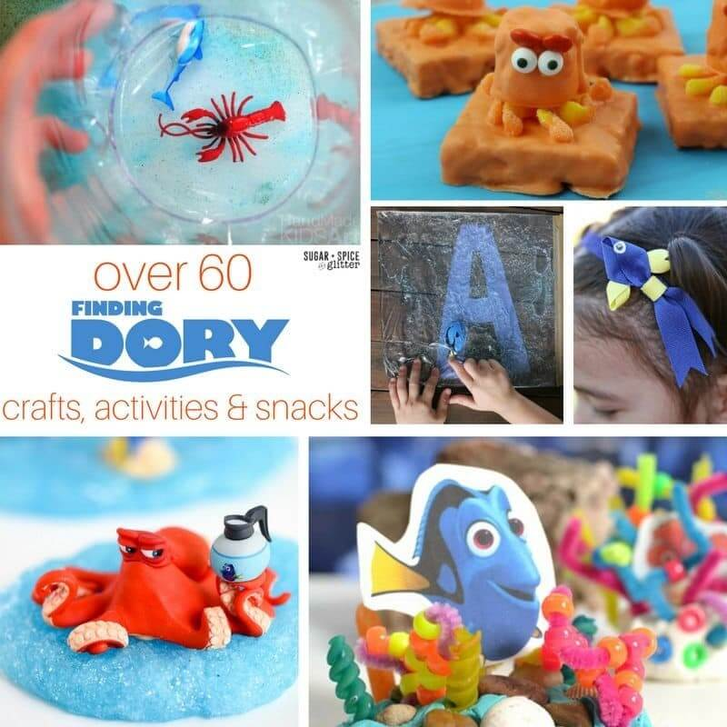 dory crafts and activities