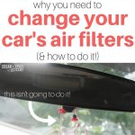 Car Maintenance: Changing the Cabin Air Filter