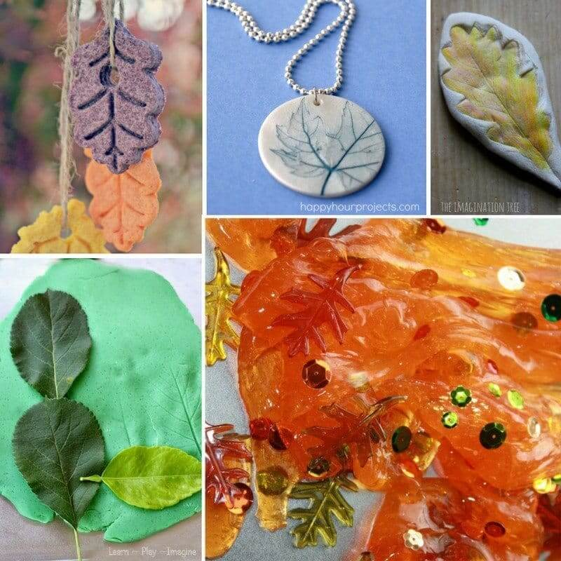 leaf-play-dough