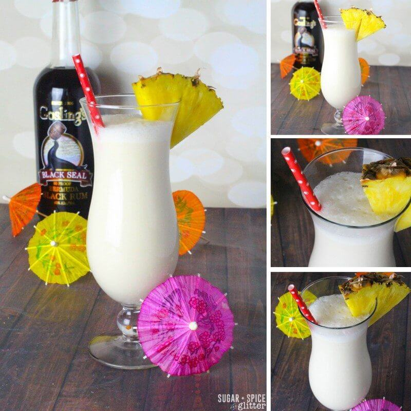 This fresh pina colada recipe is the perfect summer cocktail for your summer party menu