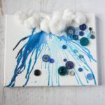 Crayon Drip Rain Cloud