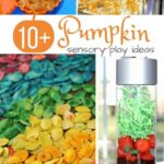 10+ Pumpkin Sensory Play