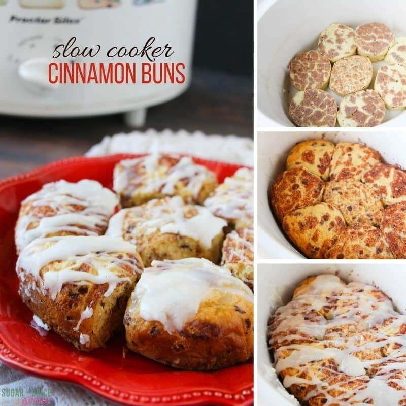 How to make cinnamon buns in the crockpot