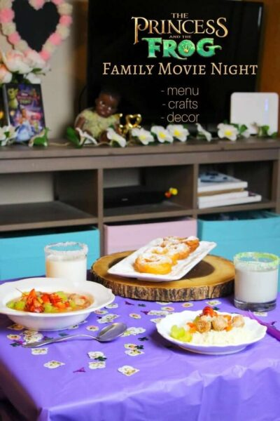 Princess & the Frog Movie Night