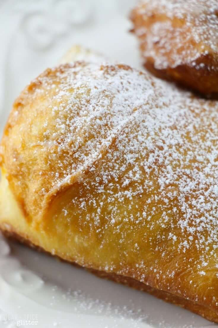 Light, crispy and chewy beignets just like they make in New Orleans