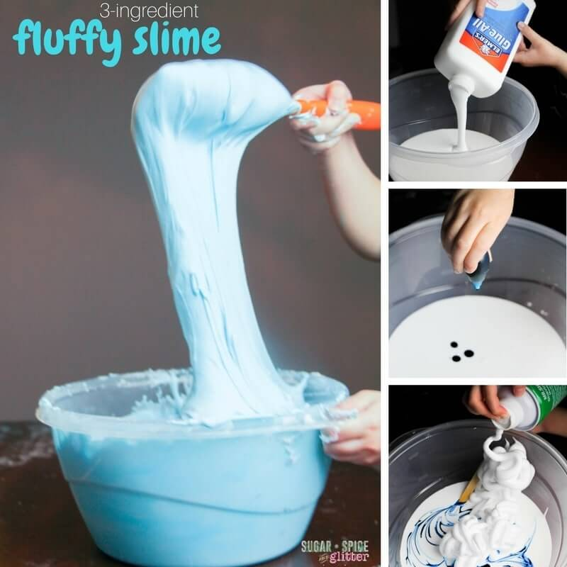 Bubble slime sugar spice and glitter for more fun slime recipes check out our new 3 ingredient fluffy slime recipe or our original secret ingredient fluffy slime recipe ccuart Images