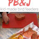 PB&J Bird Seed Ornaments
