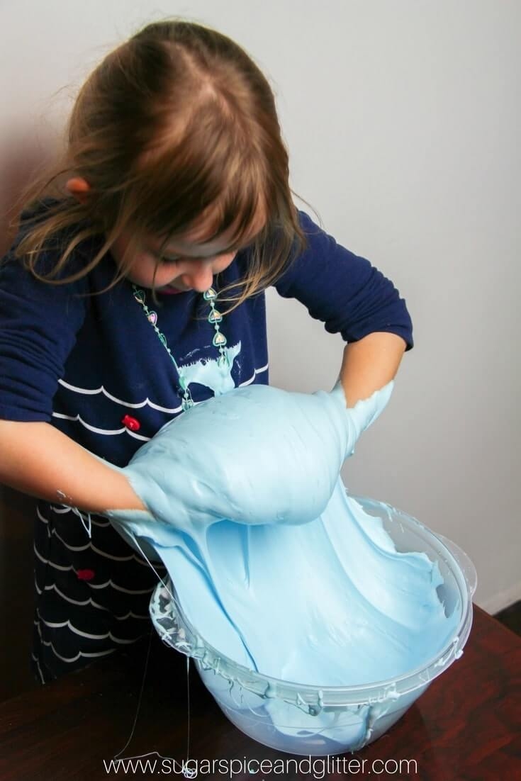 However, I Definitely See The Need To Use Something Other Than Diaper  Crystals €� I Easy 3ingredient Fluffy Slime