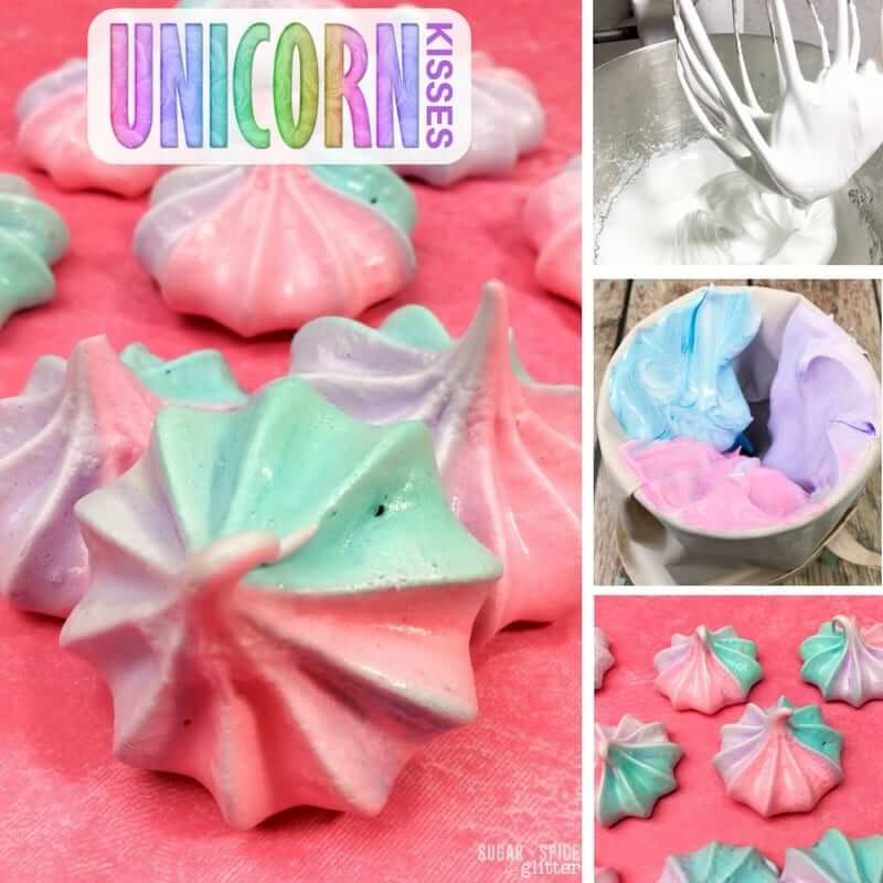 How to make easy unicorn kiss cookies to add a bit of magic to your day