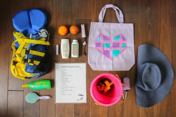 DIY Color-Changing Beach Bag ⋆ Sugar, Spice and Glitter