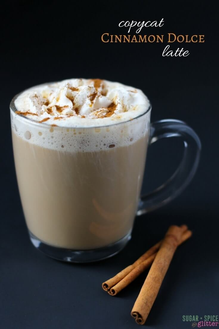 Indulge with this copycat Cinnamon Dolce latte that will leave you feeling great about saving money and putting it towards the things that really matter