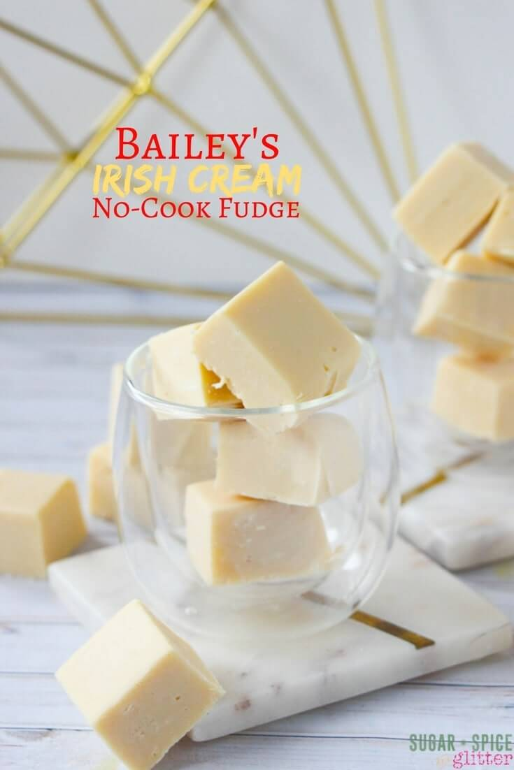 This creamy and delicious Bailey's fudge is made with just 4 ingredients. The perfect homemade gift just for adults!