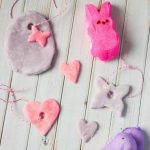 PEEPS Air Dry Clay Ornaments