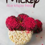 Mickey Rice Krispie Treat
