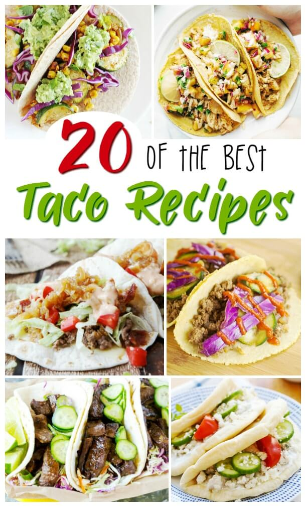 Amazing taco recipes that make for an amazing Taco Tuesday. Delicious and unexpected flavors that the whole family will love - perfect for easy party food or a fun movie night