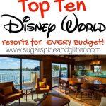 10 BEST Disney World Resorts