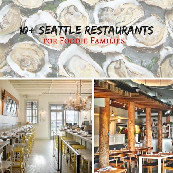 Seattle restaurants your family has to eat at! If you love great food, you cannot go wrong with these amazing Seattle restaurants