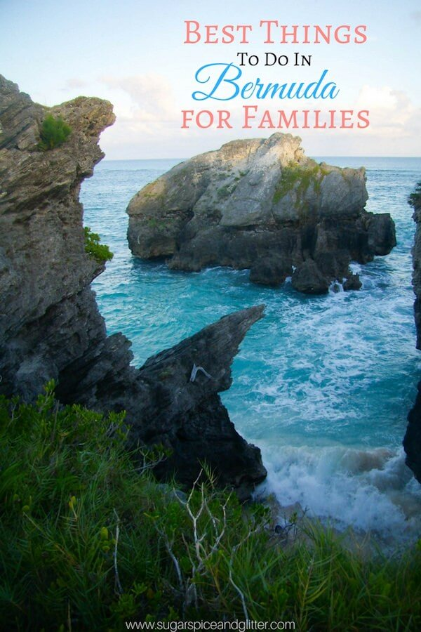 The Best Things to Do in Bermuda when travelling with kids - from free activities to the best experiences you can only find in Bermuda