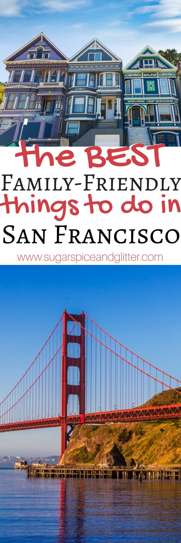The BEST Family-friendly things to do in San Francisco on a budget. This list is awesome if you're travelling to San Fran or even if you're local