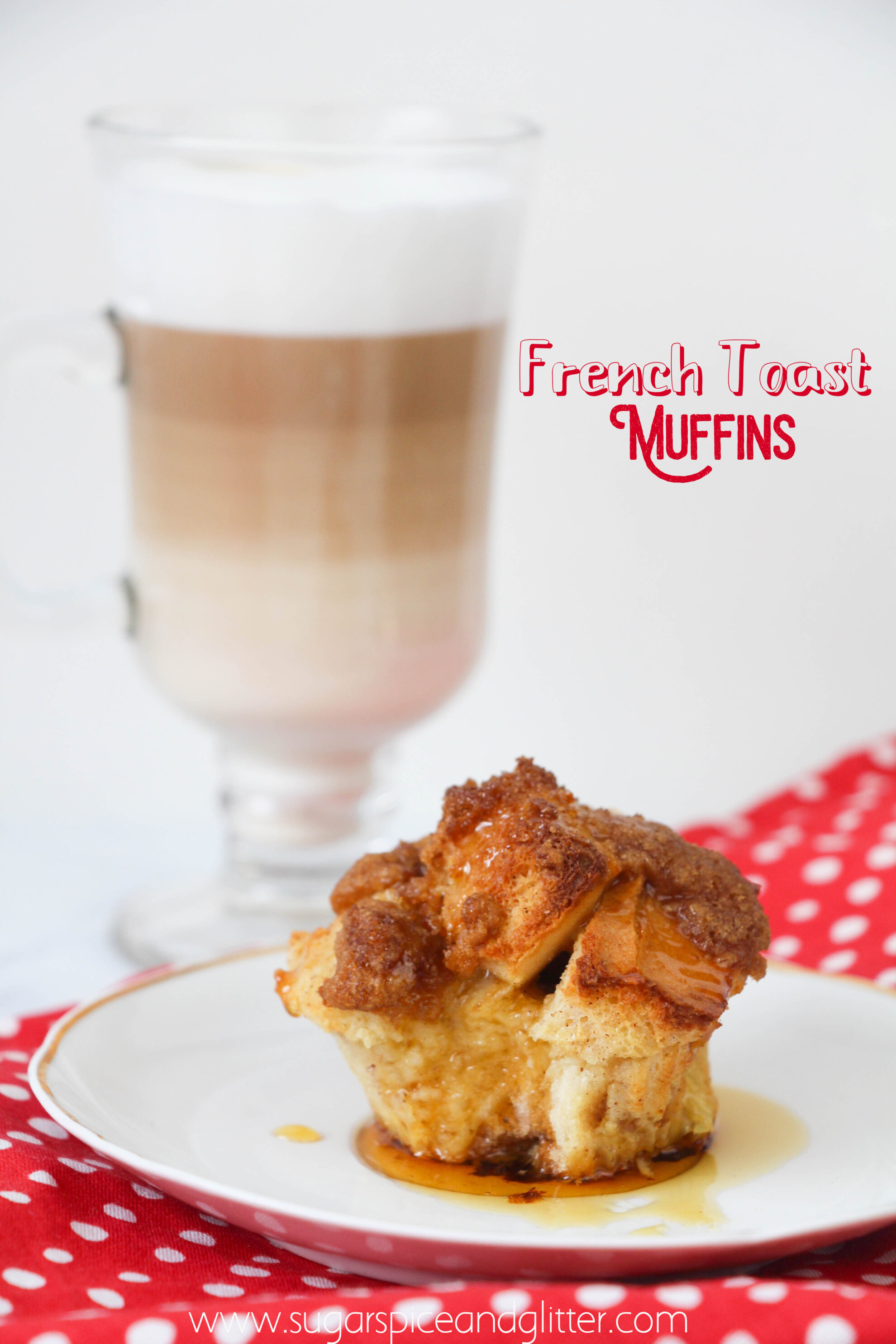 Perfect French Toast Muffins with a crunchy-sweet crumb topping, these easy breakfast muffins are a fun twist on French Toast that you can take on-the-go ad