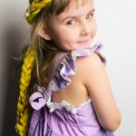 DIY Rapunzel Braid
