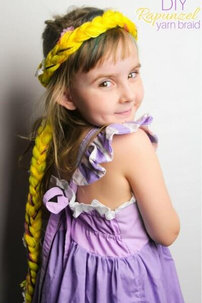 DIY Rapunzel Braid