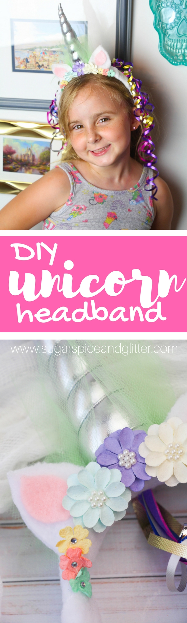 How cute is this Unicorn Headband kids can help make? Perfect for a DIY unicorn costume, a unicorn party idea or just a fun accessory for a unicorn-obsessed kid