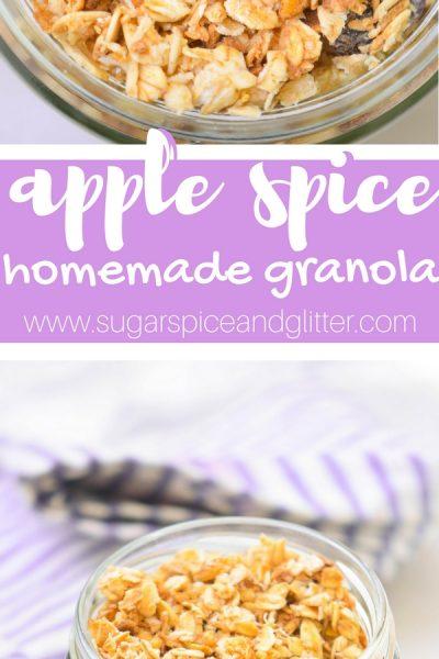 Apple Spice Granola