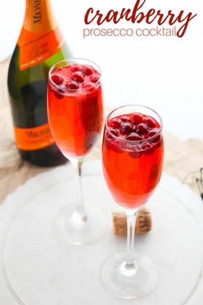 Fall Prosecco Punch