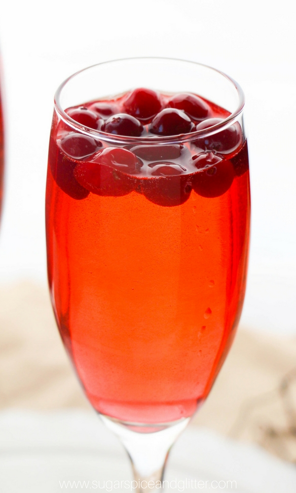 Cranberry Mimosa for when you need something a bit more seasonal and fun