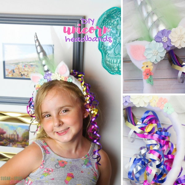 How to make an easy unicorn headband that your kids will love. Perfect for a unicorn costume or party