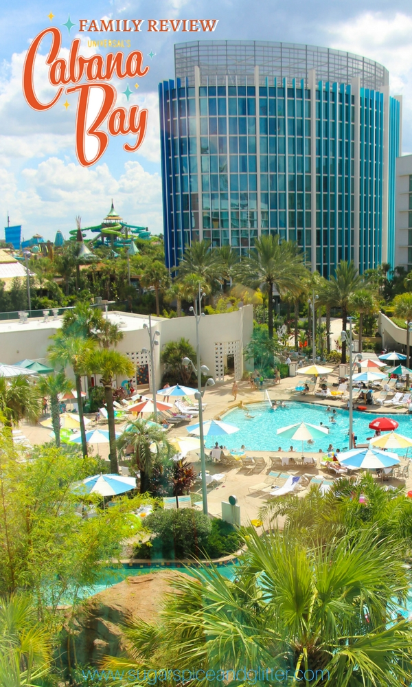 Family review of Universal Studio's Cabana Bay Beach Resort