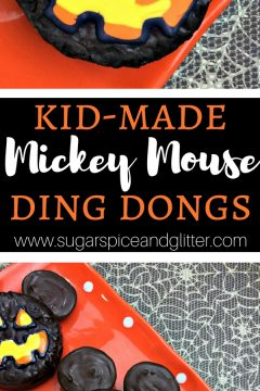 Kid-made Mickey Mouse Ding Dongs