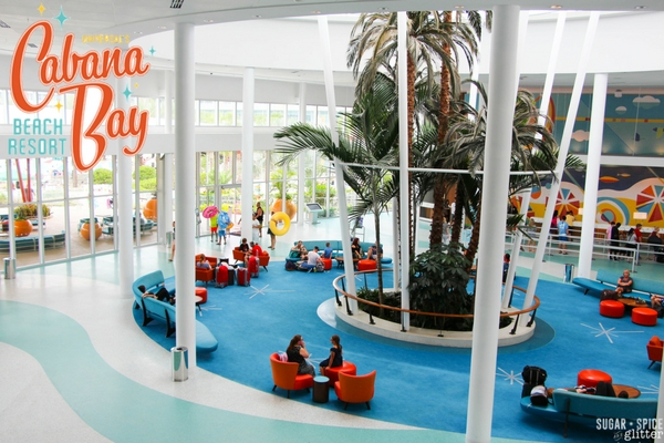Review and beautiful pictures of Cabana Bay Beach Resort at Universal Studios Florida