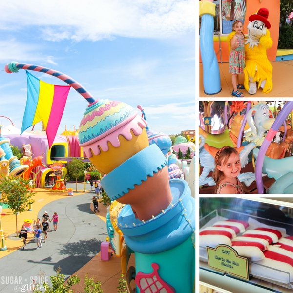 Seuss Landing at Island of Adventure - on overview of all attractions you need to visit with kids at Universal Studios