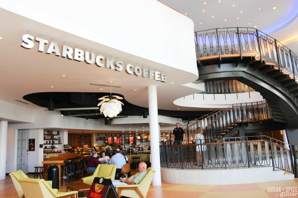 Starbucks at Cabana Bay Beach Resort in Florida