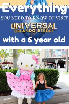 Every thing you need to know to visit Universal Studios with a 6-year old