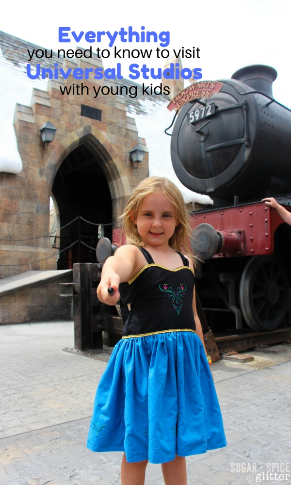 If you are planning a trip with young kids to Universal Studios, this post has everything you need - best rides for kids, snacks, where to stay, what to pack, and more!