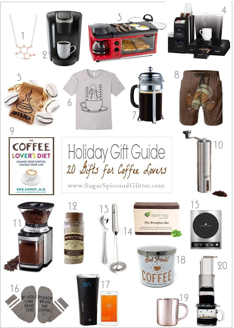 A gift guide for grown-ups, this collection is dedicated to coffee gift ideas perfect for the coffee lovers in your life.