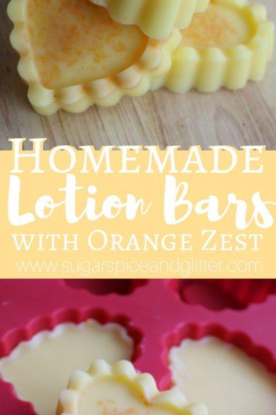 Orange Lotion Bar
