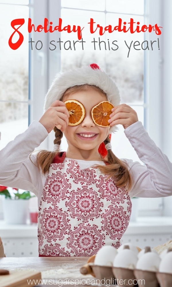 Eight wonderful family traditions that you can start this year! From alternatives to buying gifts or activities instead of advent calendars, no matter your family's size, these traditions are ones you'll want to try