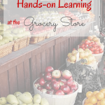 Hands-on Learning at the Grocery Store