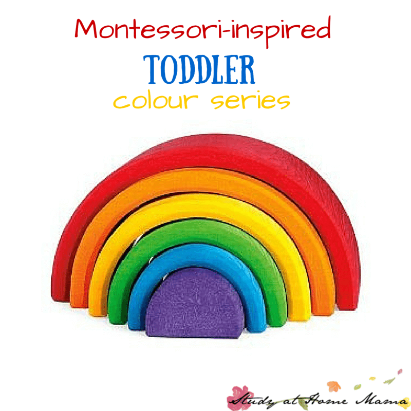 A Series of Montessori-inspired Toddler Color Unit Studies including sensory activities for kids, practical life lessons, toddler language activities & more! A Color Unit Study for each colour and colour groups (secondary, tertiary, neutral)