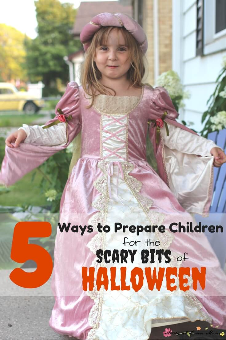 5 Ways to Prepare Children for the Scary Bits of Halloween. Halloween can be scary if children are unprepared, here are some playful ideas to scare-proof your kids!