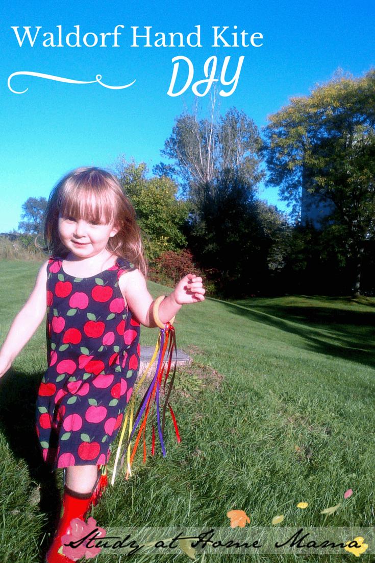 Waldorf Hand Kite DIY