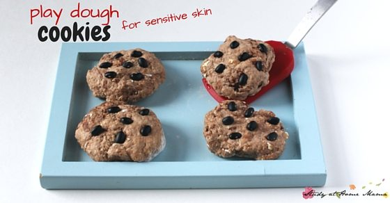 Play Dough Cookies for Sensitive Skin